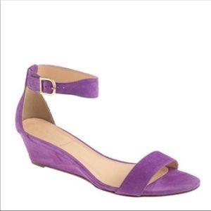 Lilac/ lavender/Purple Lillian Suede Sandals